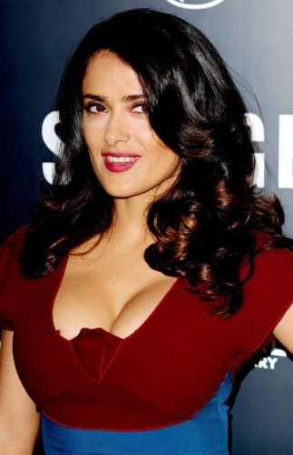 Salma Hayek Measurements, Height, Weight, Bra Size, Age
